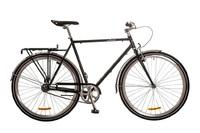 """Велосипед Dorozhnik URBAN 14G 24"""" черный с багажником 2017"""
