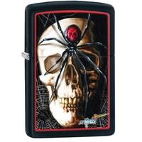 Зажигалка Zippo Mazzi Skull & Spider