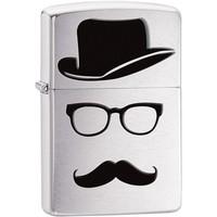 Зажигалка Zippo Moustache and Hat
