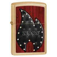 Зажигалка Zippo Leather Flame