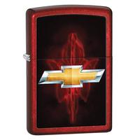 Зажигалка Zippo Chevy Candy Apple Red