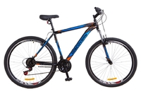 """Велосипед Discovery TREK Vbr 14G 29"""" рама-15"""" St черно-оранжево-синий 2018"""