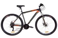 "Велосипед Discovery TREK AM 14G DD 29"" рама-20"" St черно-оранжевый хаки 2019"