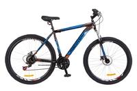 """Велосипед Discovery TREK DD 14G 29"""" рама-15"""" St черно-оранжево-синий 2018"""