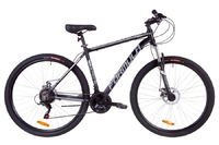 Велосипед Formula THOR 1.0 AM 14G DD рама-20 Al черно-серый с белым 2019