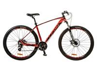"""Велосипед Leon TN-80 AM 14G DD 29"""" 21 красно-черный 2017"""