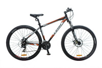 "Велосипед Leon TN-90 AM 14G DD 29"" черно-бело-оранжевый 2016"
