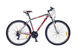 """Велосипеды Optimabikes, Велосипед Optimabikes BIGFOOT AM Vbr Al SKD 29"""" бело-красный 21"""""""