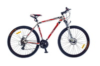 "Велосипед Optimabikes BIGFOOT AM DD Al SKD 29"" бело-красный 21"""