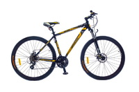 "Велосипеды Optimabikes, Велосипед Optimabikes BIGFOOT AM DD Al SKD 29"" черно-желтый 19"""