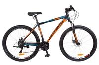Велосипед Optimabikes MOTION AM 14G DD 21 Al 29 черно-оранжевый с синим 2018