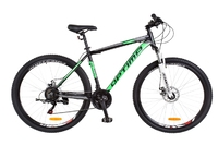 Велосипед Optimabikes MOTION AM 14G DD 21 Al 29 черно-салатный 2018