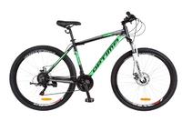 Велосипед Optimabikes MOTION AM 14G DD 21 Al 29 черно-салатный 2018