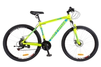 Велосипед Optimabikes MOTION AM 14G DD Al 26 салатно-синий 2018
