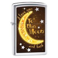 Зажигалка Zippo Golden Moon