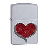 Зажигалка Zippo Glitter Heart