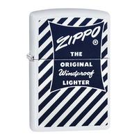 Зажигалка Zippo Blue White