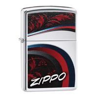 Зажигалка Zippo Satin and Chrome