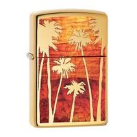 Зажигалка Zippo Fuzion Palm Tree Sunset