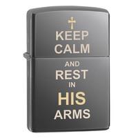 Зажигалка Zippo Keep Calm Design
