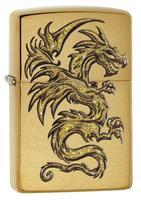 29725 Зажигалка Zippo 204B Dragon Design