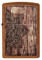 29828 Зажигалка Zippo 21184 Wood Mandala Design