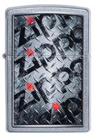 29838 Зажигалка Zippo 207 Diamond Plate Zippos Design