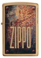 29879 Зажигалка Zippo 204B Rusty Plate Design