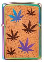 29903 Зажигалка Zippo 151 Woodchuck Leaves