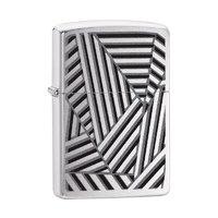 29914 Зажигалка Zippo 200 PF19 Grid Lines Design