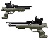 Пневматический пистолет Kral NP-01 PCP olive