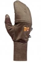 Ветронепроницаемые перчатки c отворотом Camo