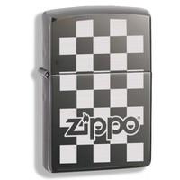 Зажигалка Zippo Checkerboard Black Ice