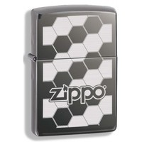 Зажигалка Zippo Honeycomb Black Ice