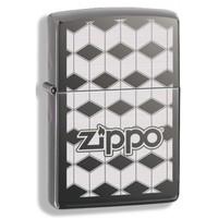 Зажигалка Zippo Cubes Black Ice