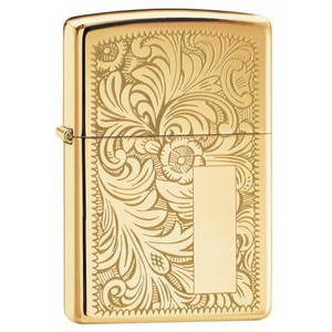 Зажигалки Zippo, Зажигалка Zippo Venetian Brass