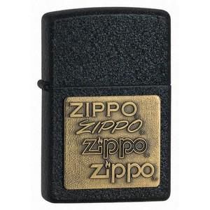 Зажигалки Zippo, Зажигалка Zippo Brass Emblem