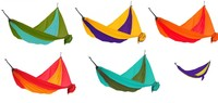 Гамак KingCamp PARACHUTE HAMMOCK Purple-Yellow