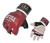 Перчатки для смешанных единоборств MMA Кожа VELO Red S