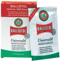 Салфетки для чистки Klever Ballistol 10шт.