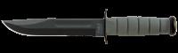 """C фиксированным клинком, 5012 Нож KA-BAR """"Foliage Green Fighter"""""""