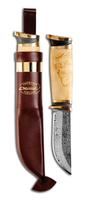 557010WНож туристический Marttiini Damascus knife