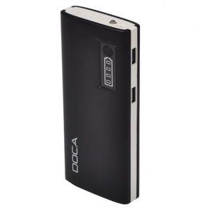 Портативные зарядные устройства, Внешнее зарядное устройство Power Bank DOCA D566II (13000mAh), черный