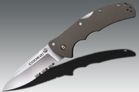 Нож Cold Steel Code 4 Spear Point Half Serr.