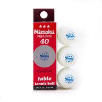 Шарики для настольного тенниса Nittaki white