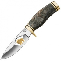192BWSLE2 Нож Buck Burlwood, Brass & Gold Vanguard®