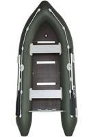 Bark BN-330S Моторная надувная лодка килевая с жестким днищем, четырехместная