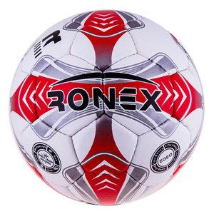 Футбольные мячи, Мяч футбольный Grippy Ronex EGEO red/silver
