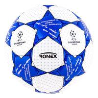Мяч футбольный Grippy Ronex Finale2 blue