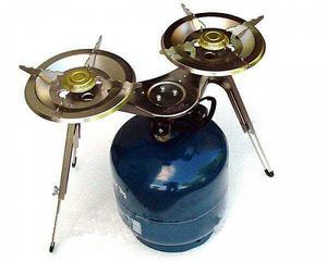 Газовые горелки, Газовая Горелка GZWM ASIA-2 две конфорки